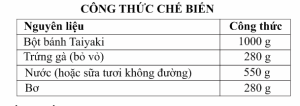 cong thuc banh taiyaki