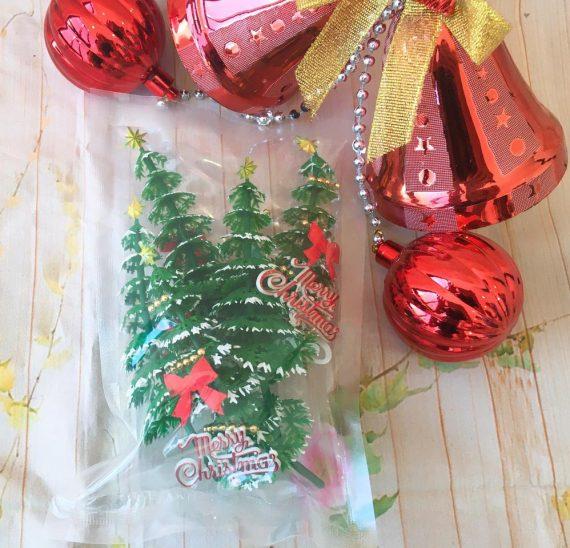 Set 5 Cây Thông Noel Gắn Ngôi Sao