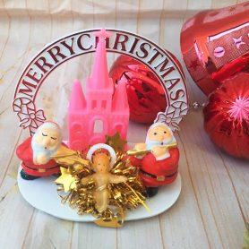 Cổng Chào Noel Nhà Thờ Hồng