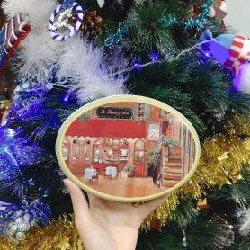 Hộp Thiếc OVal Noel
