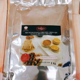 bột bánh waffle