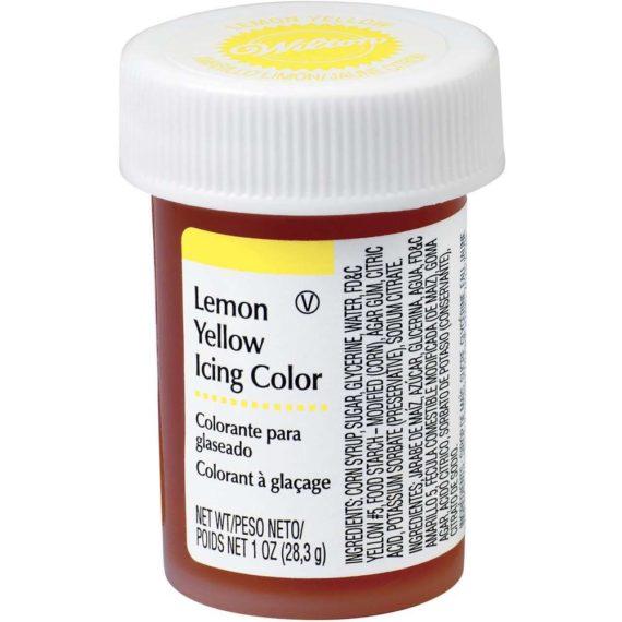 màu wilton màu vàng chanh
