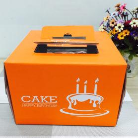hộp quai xách màu cam