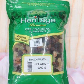 trái cây khô hỗn hợp 1kg