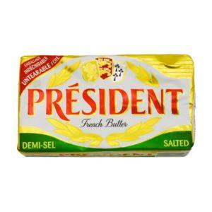 bơ mặn presiden