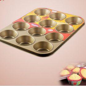 Khuôn Cupcake 12 Ô 8921