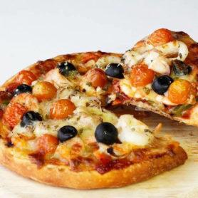 đế bánh pizza
