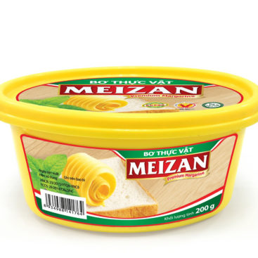 bơ thực vật meizan 200gr