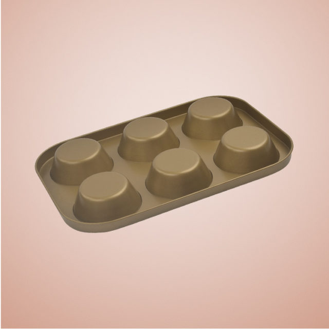 Khuôn Cupcake Chống Dính 6 Cái 8917 -01