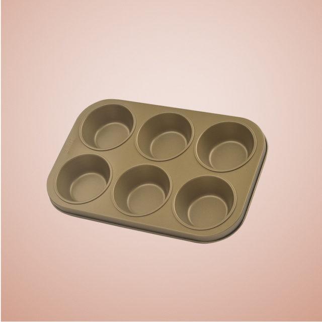 Khuôn Cupcake Chống Dính 6 Cái 8917 -02