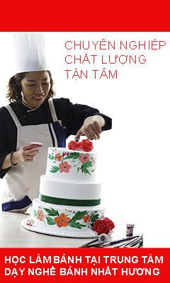 Học làm bánh tại trung tâm dạy nghề bánh nhất Hương