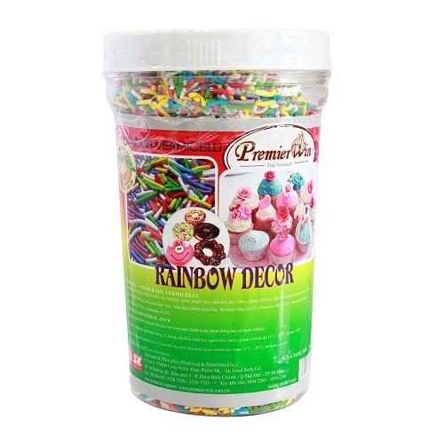 cốm màu rainbow 500gr