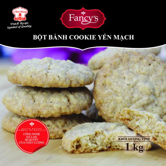 Bột Bánh Cookie Yến Mạch