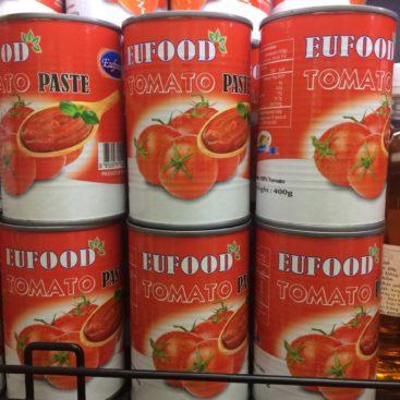 Sốt Cà Chua Eu food Tomato 400gr