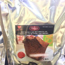 bột cake bơ chocolate 1kg
