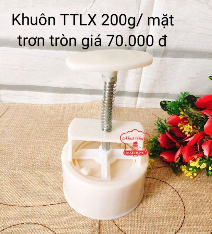 Khuôn TTLX 200gr Mặt Trơn Tròn