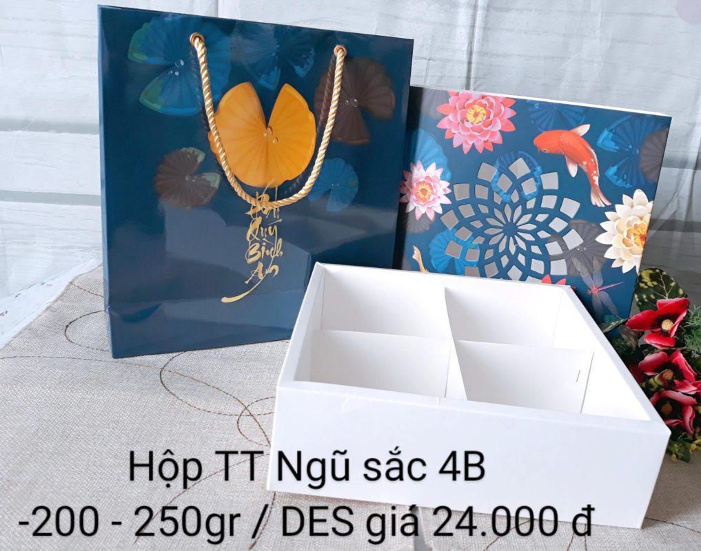 Set Túi Hộp TT Ngũ Sắc 4B 200gr-250gr