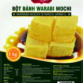 Bột Warabi Mochi Nhật Bản 1Kg