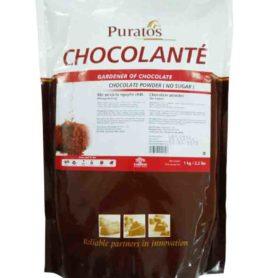 bột sô cô la nguyên chất không đường