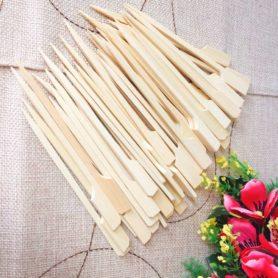 cây xiên gỗ 12cm 50c