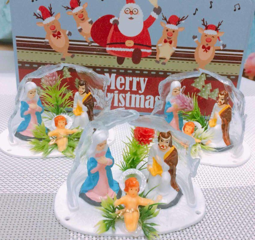 Hang Đá Nhựa Trang Trí Noel