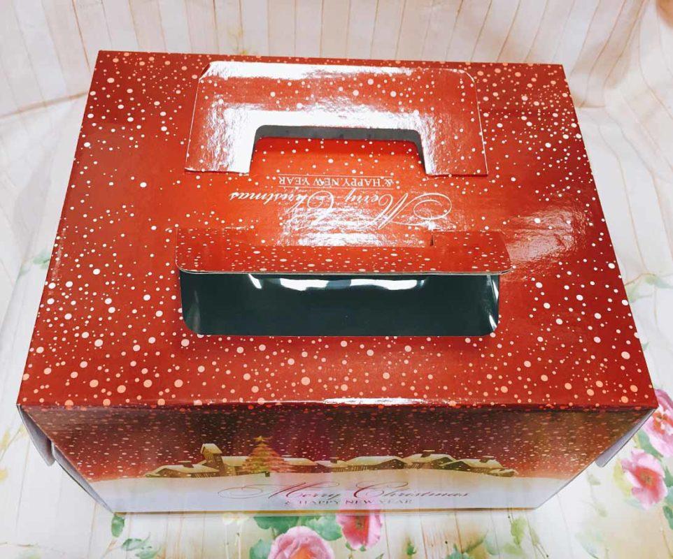 Hộp Giấy Đựng Bánh Khúc Cây 20cm x 25cm
