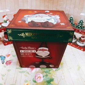 Hộp Quà Giấy Vuông Noel