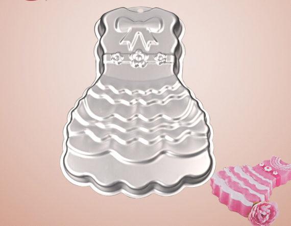 Khuôn Nhôm 3D Hình Chiếc Váy