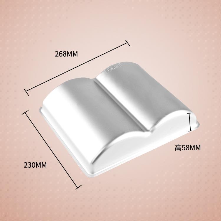 Khuôn Nhôm 3D Hình Cuốn Sách