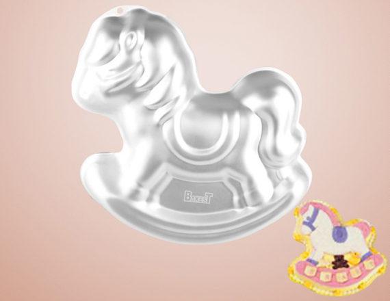 Khuôn Nhôm 3D Hình Chú Ngựa