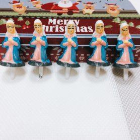 Set 5 Mẹ Chúa Trang Trí Noel