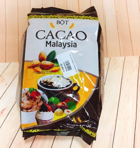 bột cacao đắng malaysia 500gr