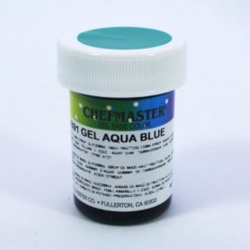 màu xanh aqua blue chefmaster