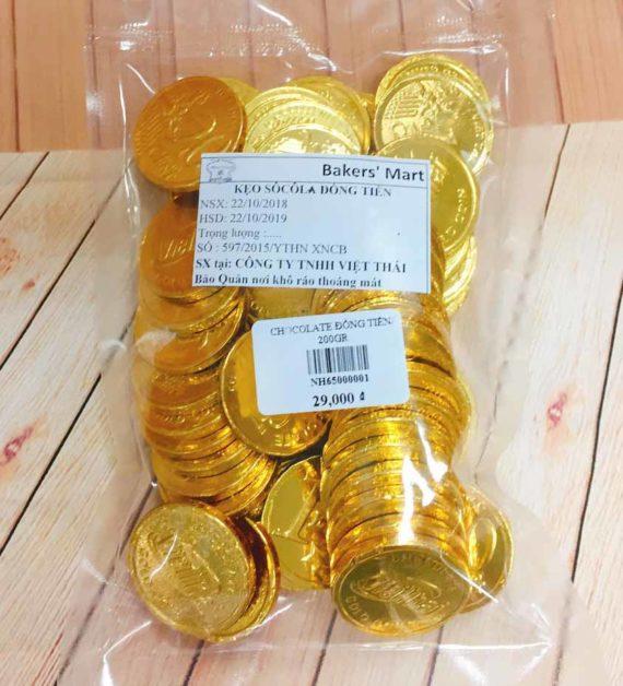 chocolate đồng tiền lớn 200gr