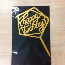 Cây Cắm Happy Birthday ( Nhiều Mẫu Chữ Khác Nhau)
