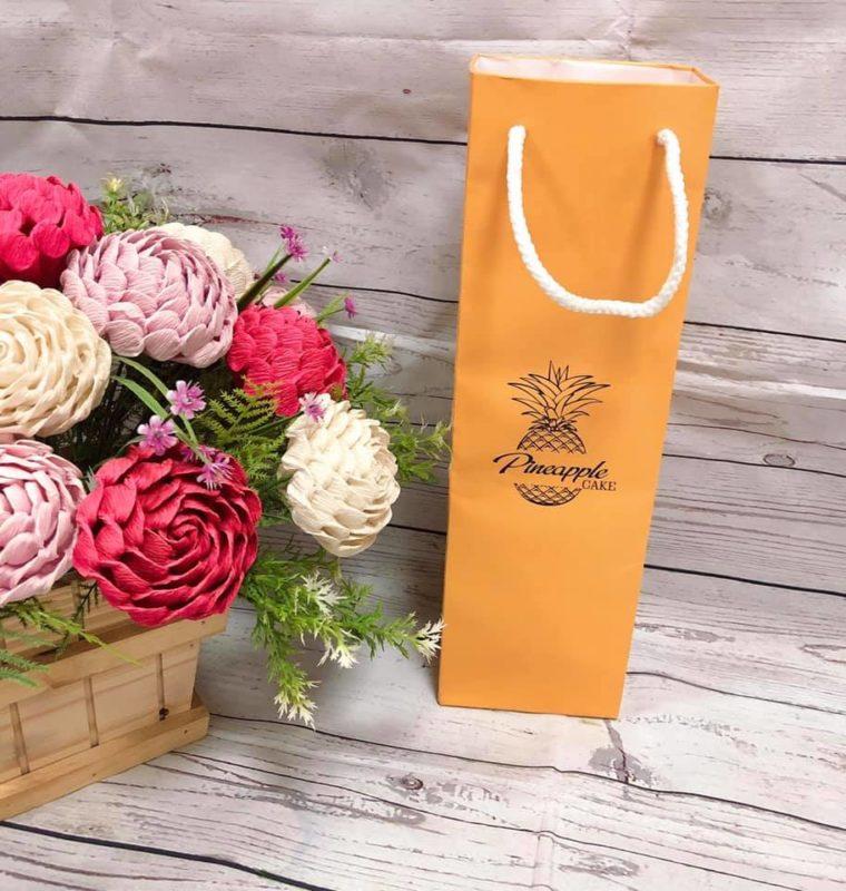 Túi Hộp Đựng Bánh Dứa PineApple Cake