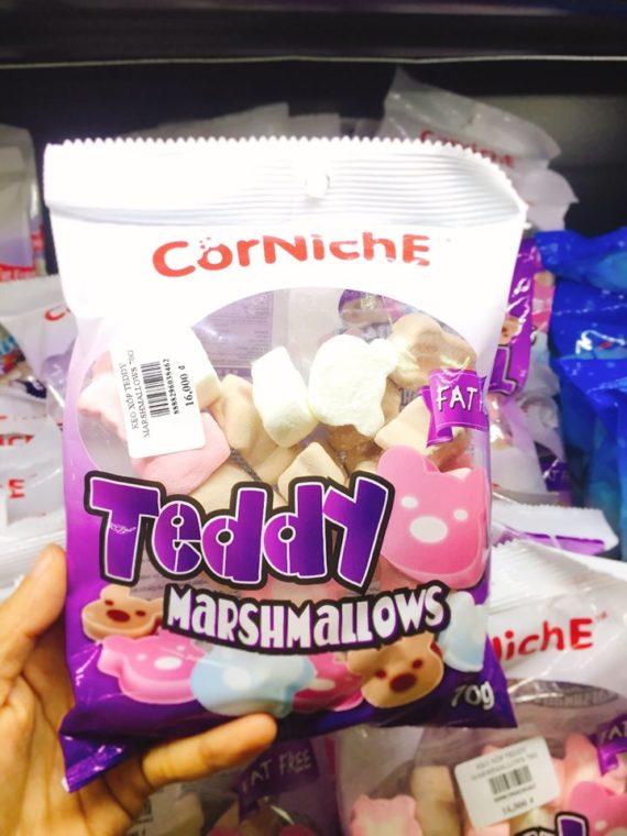Kẹo Xốp Trắng Marshmallow GấuTrắng Hồng 70gr