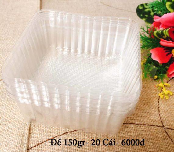 Khay Nhựa Đựng Bánh Trung Thu 150gr