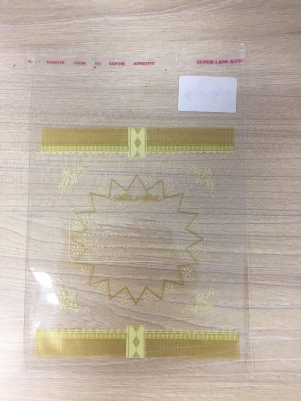 Túi Dán Trung Thu Bánh 150gr-180gr Màu Xanh (Bịch 100gr)