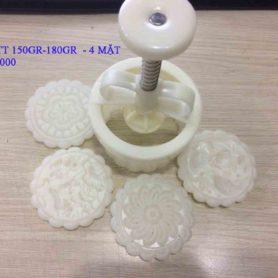 Khuôn Nhấn TT 150gr-180gr-4 Mặt Hoa Văn