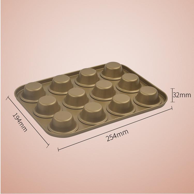 Khuôn Cupcake 12 Ô 8919