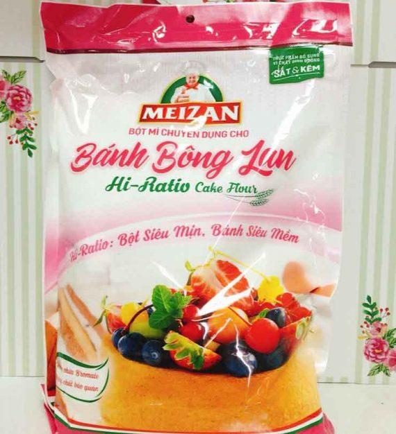 bột bánh bông lan meizan 1kg