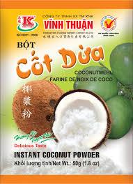 Bột Cốt Dừa Vĩnh Thuận 50gr