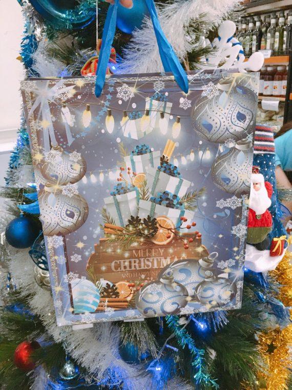 Túi Giấy Họa Tiết Món Quà Noel