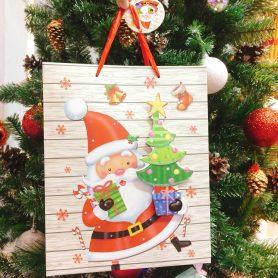 Túi Giấy Họa Tiết Ông Già Noel