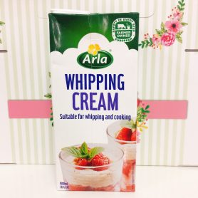 whipping cream arla 1lit