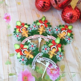 Set 5 Cây Cắm Noel Chúa Nhỏ