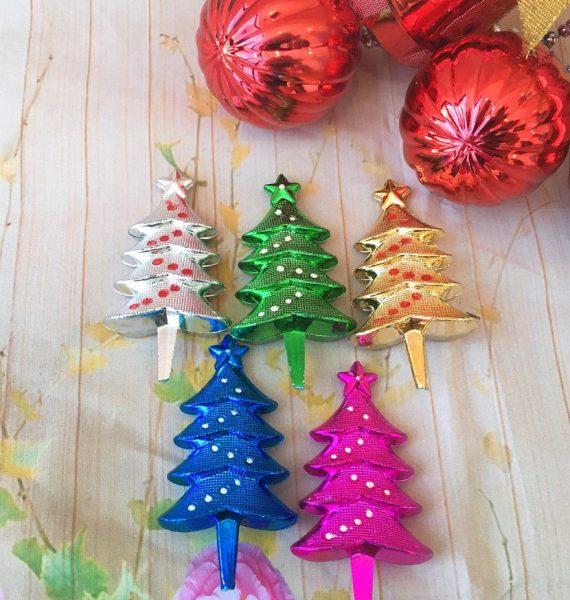 Set 5 Cây Thông Noel Nhựa