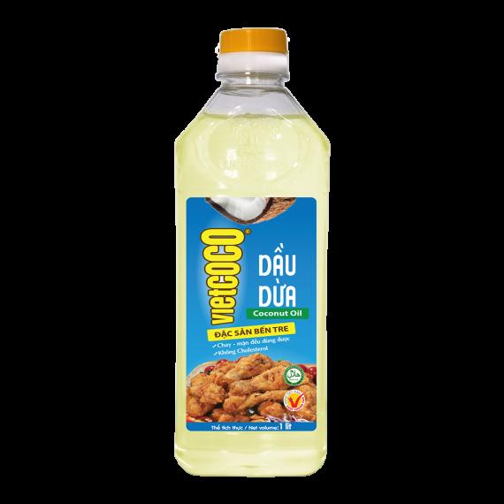Dầu Dừa Tinh Luyện Vietcoco 1 Lít