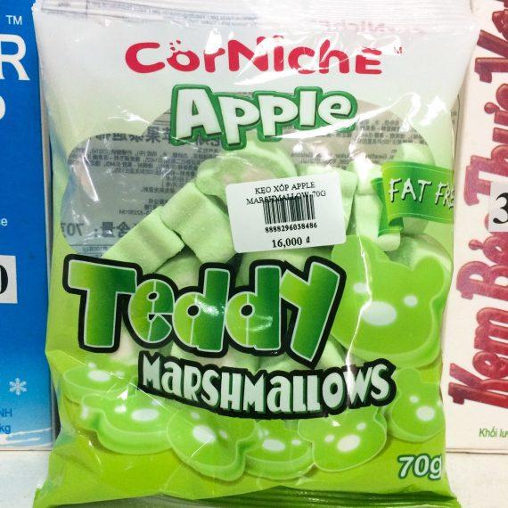 Kẹo Xốp Marshmallow Apple 70gr